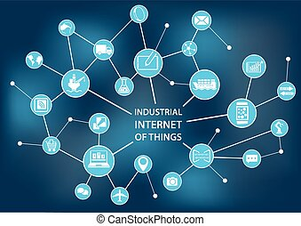Industrial internet of things / industry 4.0 concept as...