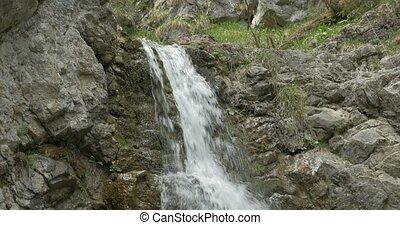 4K, Kvacianska Dolina Waterfall, Slovakia - Untouched and...