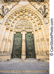 cathedral in Prague, Czech Republic
