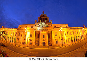 The Custom House in Dublin, Ireland