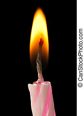 Birthday cake candle - Birthday party celebration sweet cake...