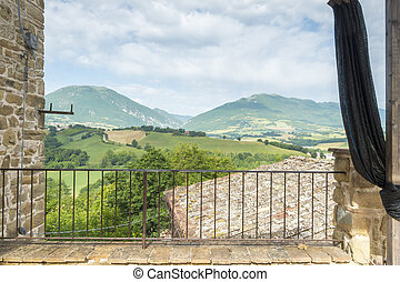 nice view in Italy Marche near Camerino - An image of a nice...