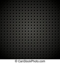 Textured vector perforated leather background