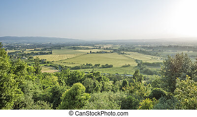 landscape mood in Italy Marche - An image of a landscape...