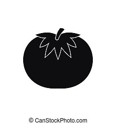 Tomato icon, simple style - Tomato icon in simple style...
