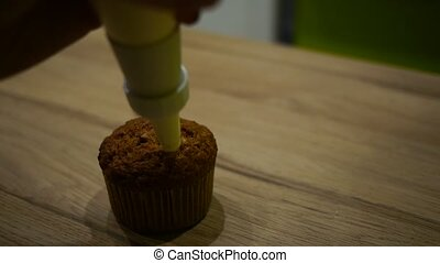 cupcakes making of