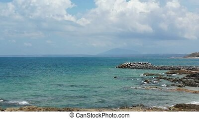Coastline At Mui Me, Vietnam - The Pacific Coastline At Mui...