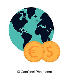 coin , Vector illustration