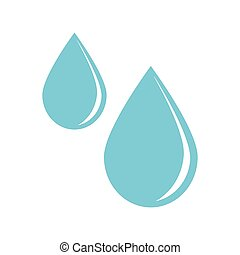 isolated drops design. Healthy lifestyle concept , vector...