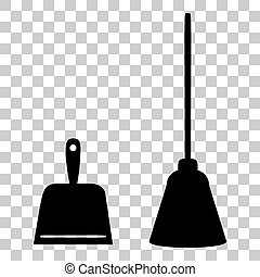Scoop for cleaning garbage housework dustpan equipment