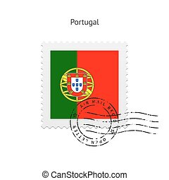 Portugal Flag Postage Stamp - Portugal Flag Postage Stamp on...