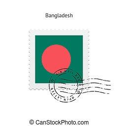 Bangladesh Flag Postage Stamp - Bangladesh Flag Postage...