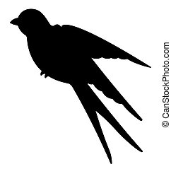 Swallow Birds Silhouette