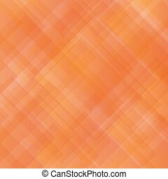 Abstract Orange Square Pattern.