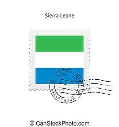 Sierra Leone Flag Postage Stamp - Sierra Leone Flag Postage...