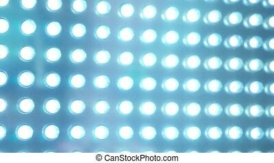 LED panel blue lighting abstract - clip