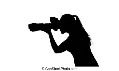 Photographer provides professional photography. White....