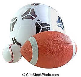 Balls for sport - Balls for football, soccer and baseball...