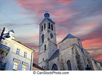 Czech Republic - UNESCO City Kutna Hora - Church St Jakuba...