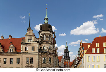 Historical center of Dresden (landmarks), Germany