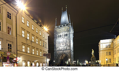 The Powder Tower or Powder Gate --is a Gothic tower in...
