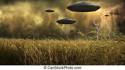 Aliens Invade