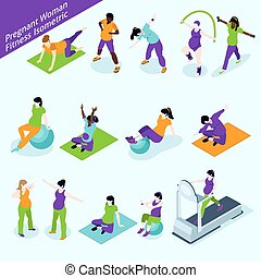 Pregnant Women Fitness Isometric Set - Pregnant Women...