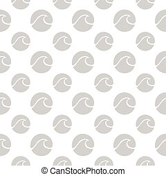 seamless pattern with surf