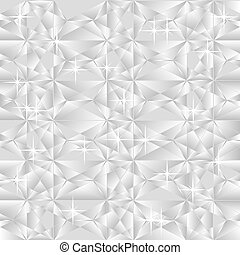 silver background - Vector light silver gray geometric...