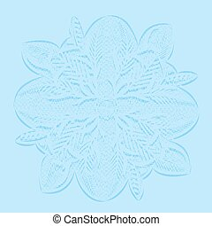 circular lace doily - Background circular openwork doily...