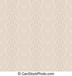 Victorian style - Seamless floral background in Victorian...