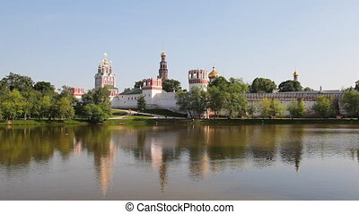 Novodevichy Convent in Moscow , Russia. Was built in the...