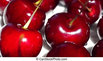 Delicious cherry berries - Delicious ripe cherry berries...