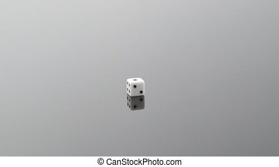 A die indicating numbers from 1 to 6, shallow focus - 6...