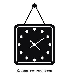 Watch icon, simple style - Watch icon in simple style...