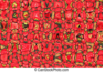 creative bright abstract red texture