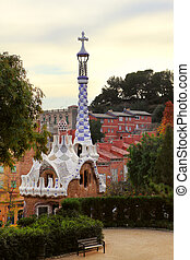 Park Guell Gingerbread House of Gaudi