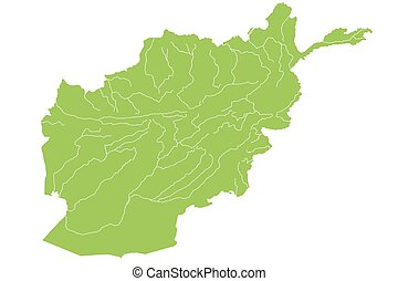 Map of Afghanistan - Large and detailed map of Afghanistan