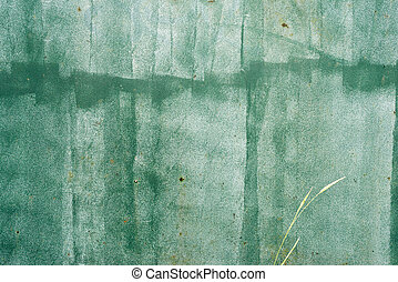 Green grungy old wall texture