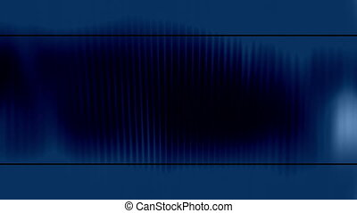 Blue template style loop abstract