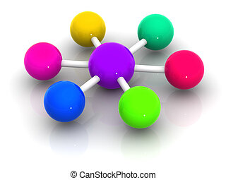 cooperation - organization with diversity. cooperation