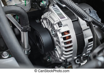 new electric car alternator - alternator work at shallow...