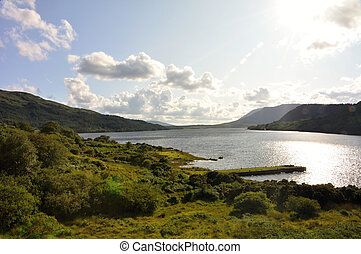 Irish Lough Corrib lake - Very nice and famouse place in...