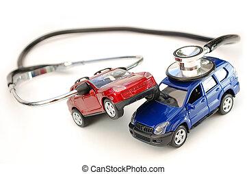 Automobile, collasso