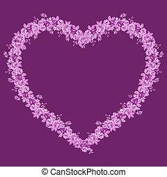 rosa, marco, con, andrajoso, elegancia, rosas,
