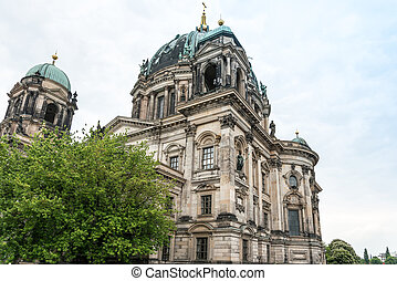 Berlin, Mitte - May 16 : Berlin Cathedral Church German...