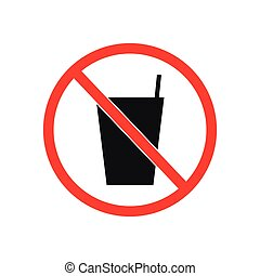 vector of no drink