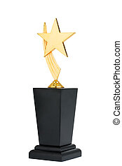 Award Trophy for winner achievement after win competition