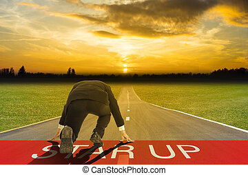Start up business road for success on your investment...