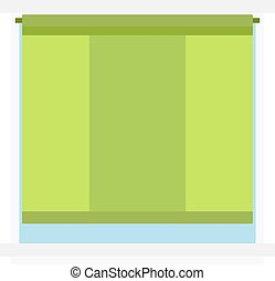 House window vector isolated on white background. Window...